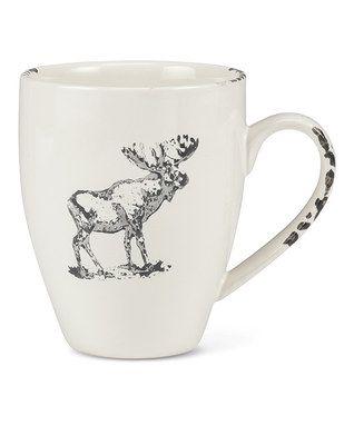 Ivory Moose Mug