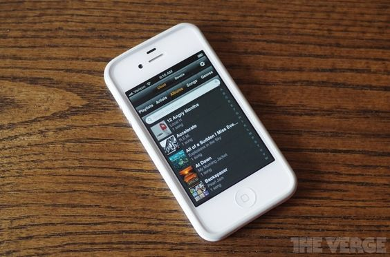 Amazon releases Cloud Player app for iPhone and iPod