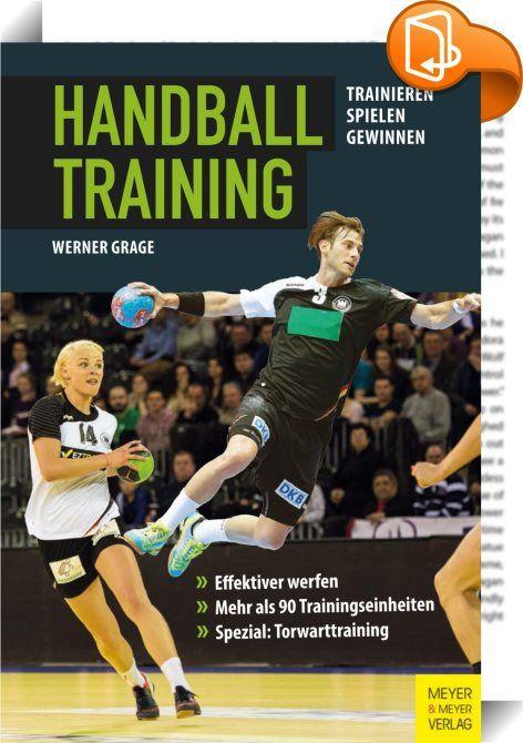 Handballtraining    ::  Im vorliegenden Buch werden für jede Handballmannschaft konkrete Trainingsanregungen gegeben, die durch Gliederung und einprägsame Grafiken verdeutlicht werden. Die 94 Trainingsprogramme und knapp 200 Übungsvorschläge umfassen die physische Vorbereitung, Leistungstests, Einzelübungen, die Verbesserung der Technik und Taktik, das Laufspiel und das Zusammenspiel in kleinen Gruppen. Besondere Berücksichtigung findet das Torwarttraining. Die Trainingspläne sind so a...