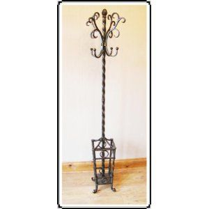 Steel coat stands come in one of two flavours - Tubular steel and Steel rod…