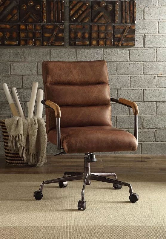 Harith High Back Leather Executive Chair Home Office Chairs Office Chair Design Executive Office Chairs