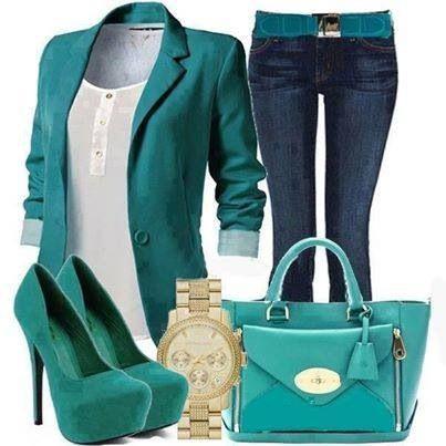 Turquoise stylish plus