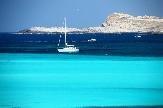 the blue lagoon, La Pelosa, Stintino, Sardinia