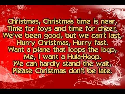 The Chipmunks - The Chipmunk Song (Christmas Don't Be Late ...