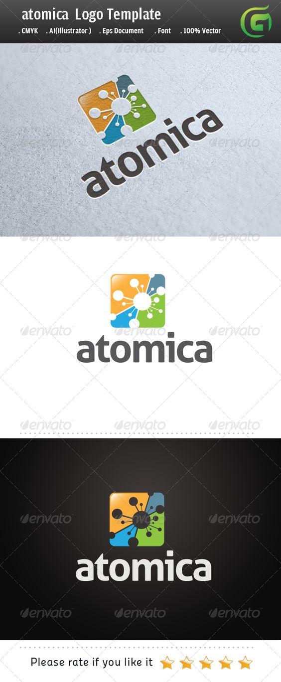 Atomica - Symbols Logo Templates