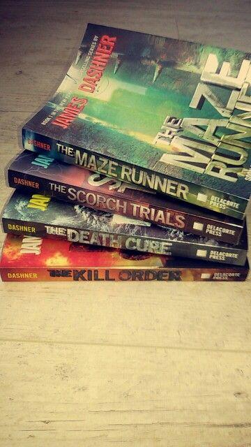 The maze runner book series by james dashner #mazerunner
