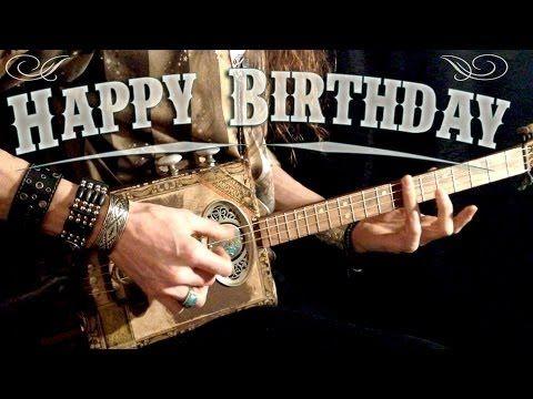 Happy Birthday Rock Version Youtube Glucklicher Geburtstag