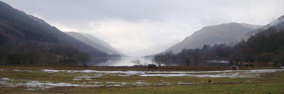 Balquhidder Loch Voil, Kingshouse and Rob Roy Macgregor