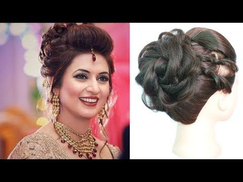New Hairstyle With Amazing Trick Wedding Hairstyles Beautiful Hairstyle Bridal Hairstyle Halle Ha Easy Bun Hairstyles Bun Hairstyles Easy Hairstyles