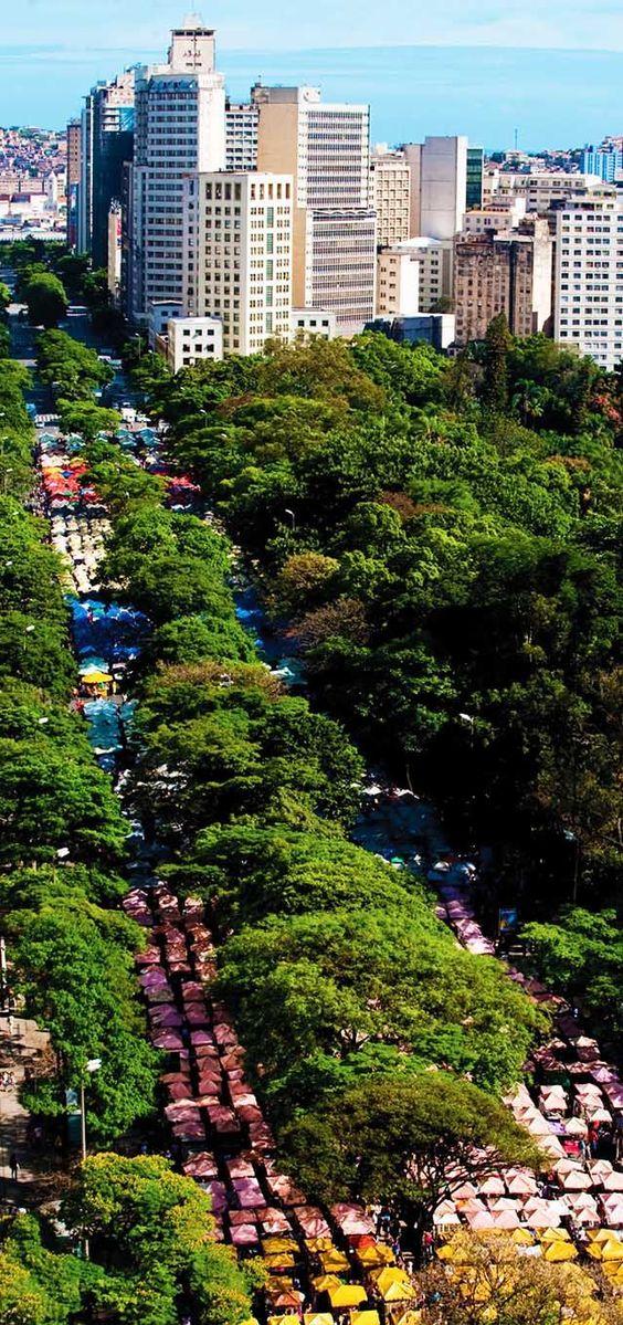 Avenida Afonso Pena, Belo Horizonte, Minas Gerais - Brazil