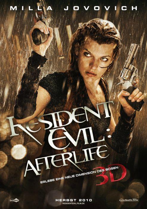 Poster zum Film: Resident Evil: Afterlife 3D
