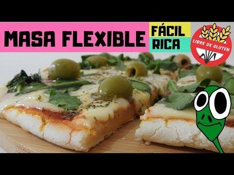 Receta pizza sin gluten