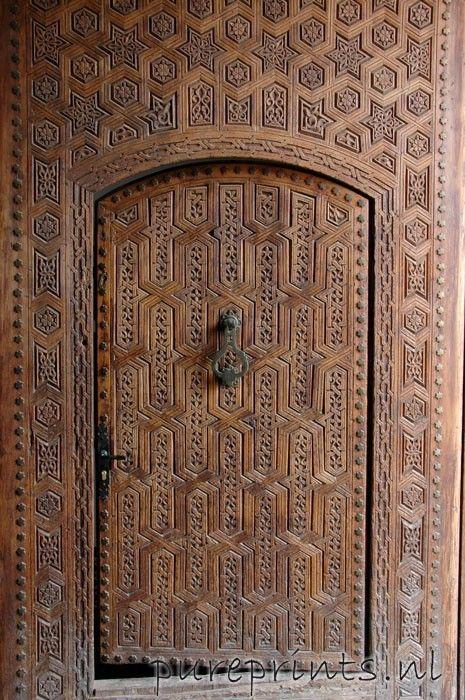 Pureprints.nl - houten deur   RU017