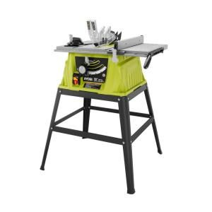 Ryobi 10 in. 15 Amp Table Saw-RTS10G at The Home Depot