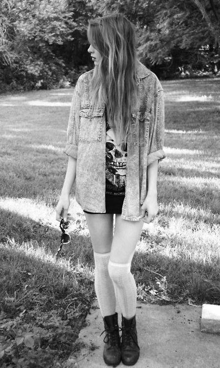 <3, black and white, cool, fashion