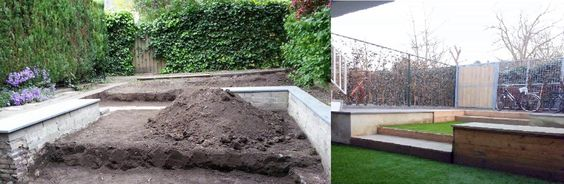 Garden project Before-After