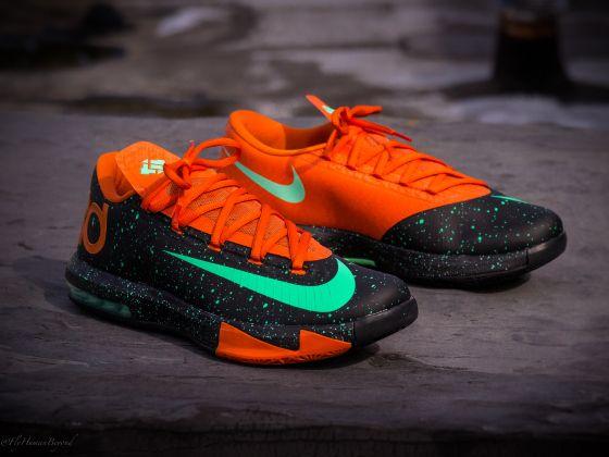 Online Sale 2015 Nike KD V 5 Hulk Atomic Teal Volt Dark Atomic T