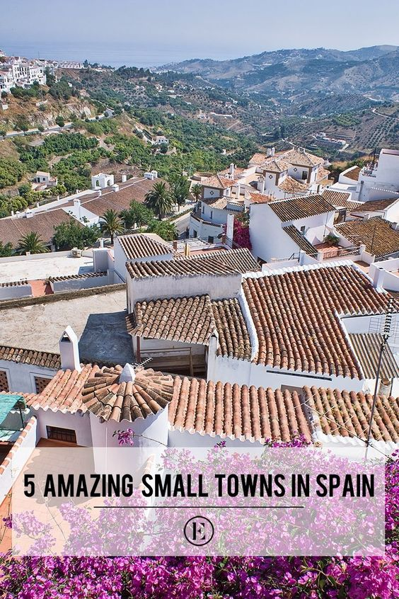 5 Amazing Small Towns in Spain You Need to Visit #theeverygirl