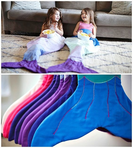 Adorable Mermaid Blankets | Whimsy Tails: