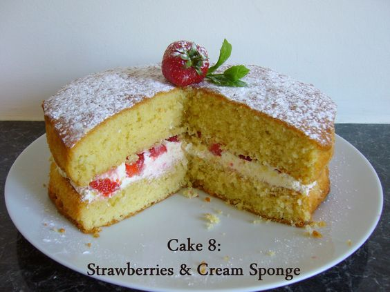 Sponge Wedding Cake Recipes Uk: This Is A Traditional 200g Victoria Sponge Recipe From The