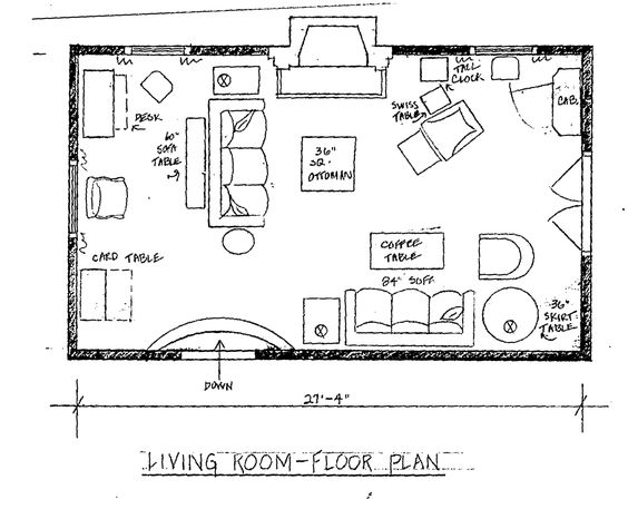 Living Room Floor Plans: Living Room Floor Plan - Google Search
