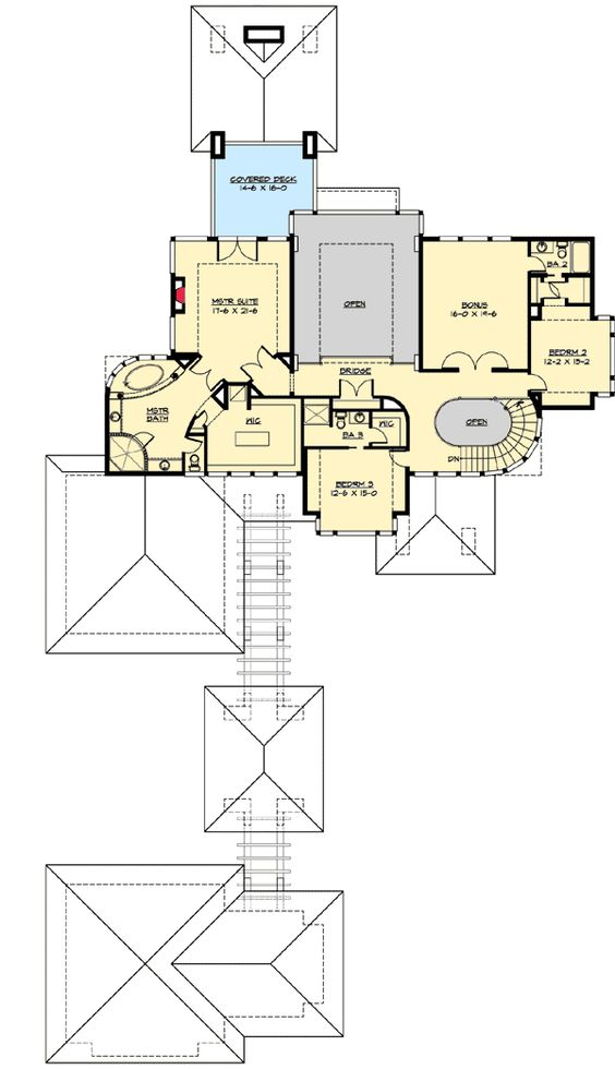 Plan 23480jd above and beyond 2nd floor house plans for Northwest home designs plans