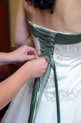 Irish wedding dress - Check out navarragardens.com for info on a beautiful Oregon wedding destination!