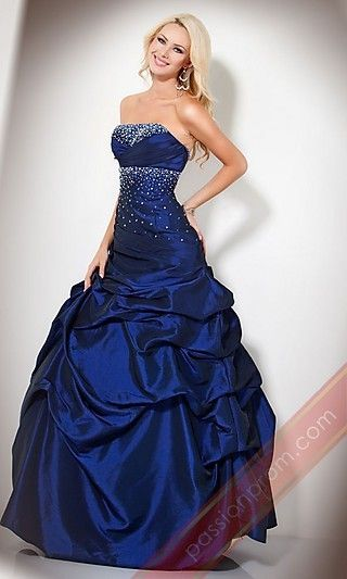 Strapless Jovani Ball Gown