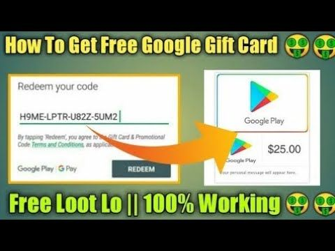 100 Working Free Google Play Gift Card Codes 2021 In 2021 Google Play Gift Card Gift Card Generator Google Play Codes