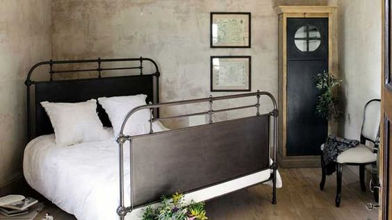10 lits en m tal pour une chambre qui a du style photos et m taux - Lit style industriel ...