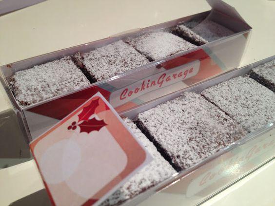 regalino di natale con bocconcini di city cake - italian food, love italy
