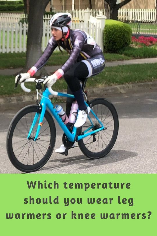 What Temperature Should I Wear Knee Warmers Or Leg Warmers Cycling