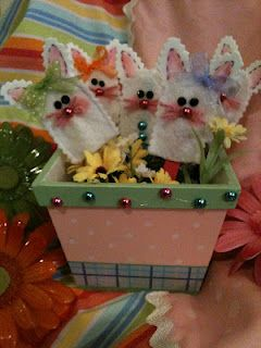 Easter felt finger puppets for hours of fun