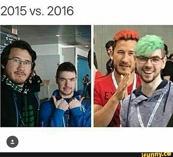 So much has changed. SOOO MUCH. Mark lost his glasses and Jack got them!!!>.<