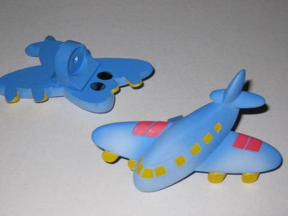 AIRPLANE - CURTAIN ROD FINIALS - CHILDREN - NEW - FREE SHIPPING ...