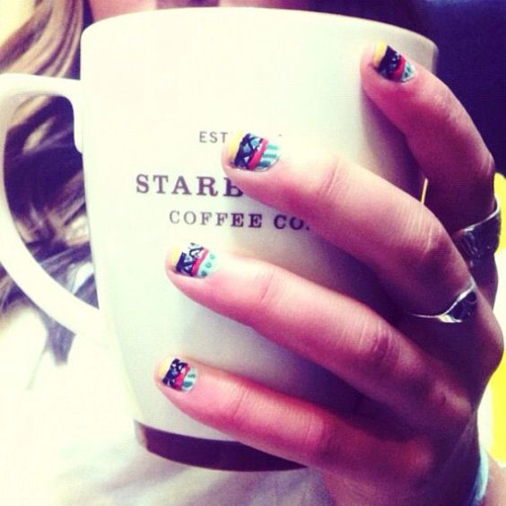 the nails... the coffee...