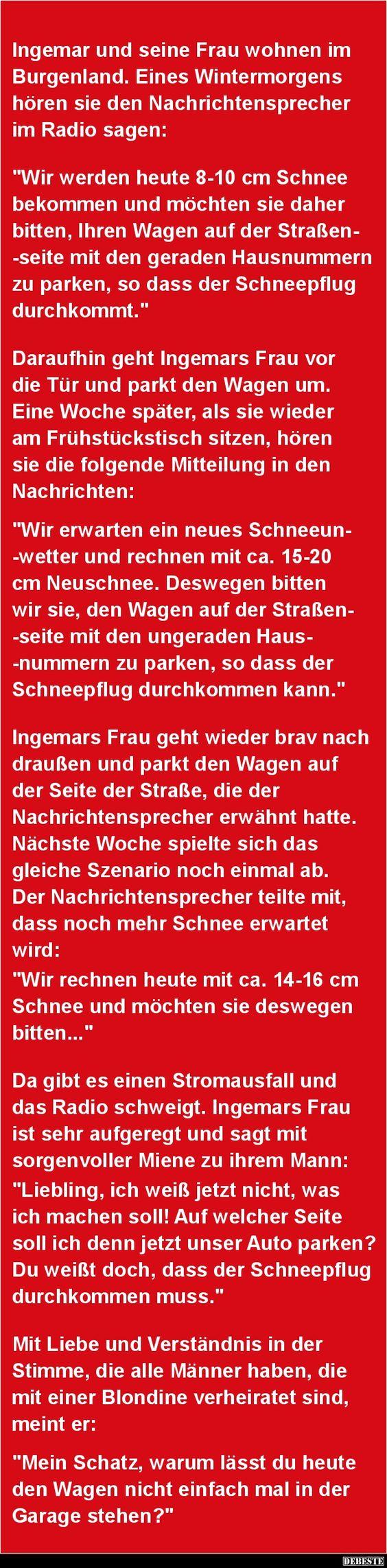 Ingemar und seine Frau wohnen im Burgenland.. | DEBESTE.de, Lustige Bilder, Sprüche, Witze und Videos
