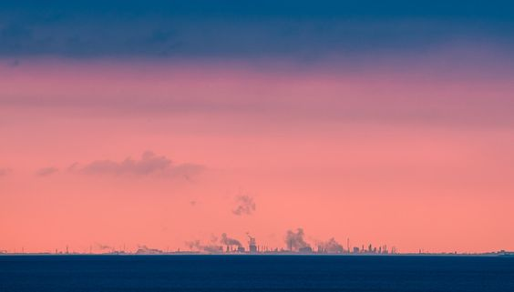 Sunrise over city far far away by Krzysztof Hanusiak on 500px