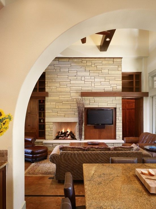 Family Room Fireplaces Design, Pictures, Remodel, Decor and Ideas - page 8