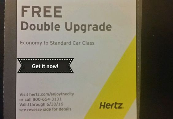 HERTZ RENTAL CAR  special discount COMBO coupons!
