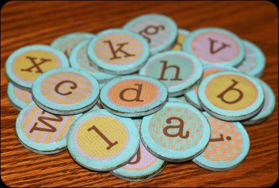 Sweet Little Gals: Vintage Magnets