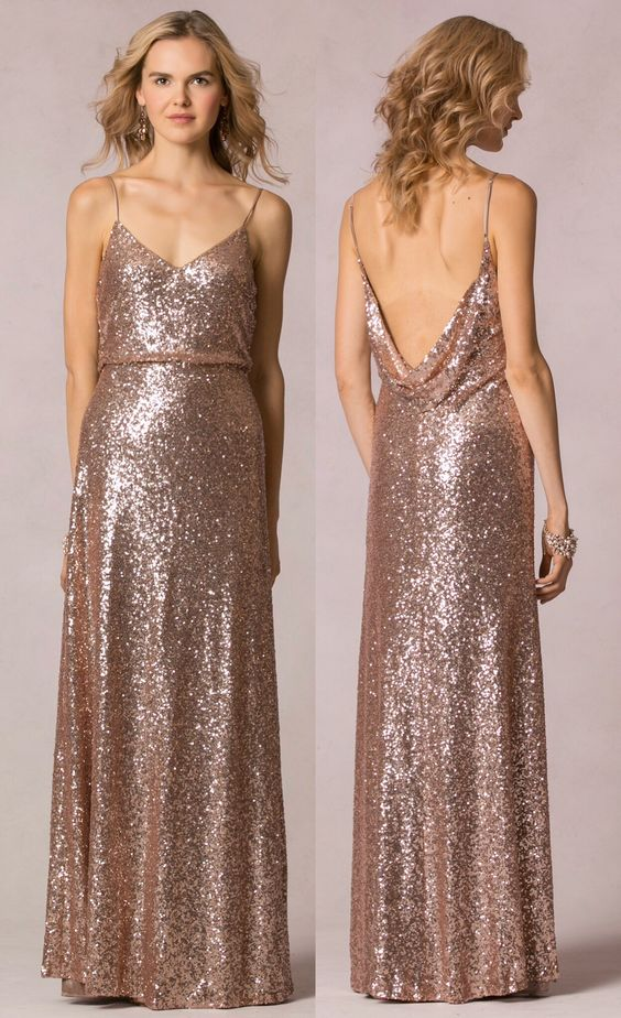 Sequin Bridesmaid Jules Dress by Jenny Yoo available in 6 sequin ...