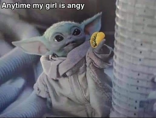 Yodababy Me Is On Instagram Just Food Follow Yodababy Me Is Follow Yodababy Me Is Babyyoda Babyyodamemes Bab Yoda Funny Yoda Meme Yoda Pictures
