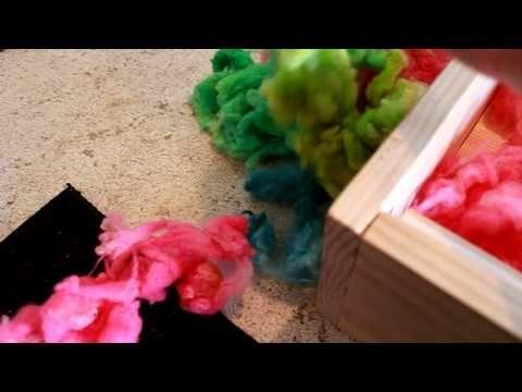Homemade wool picker