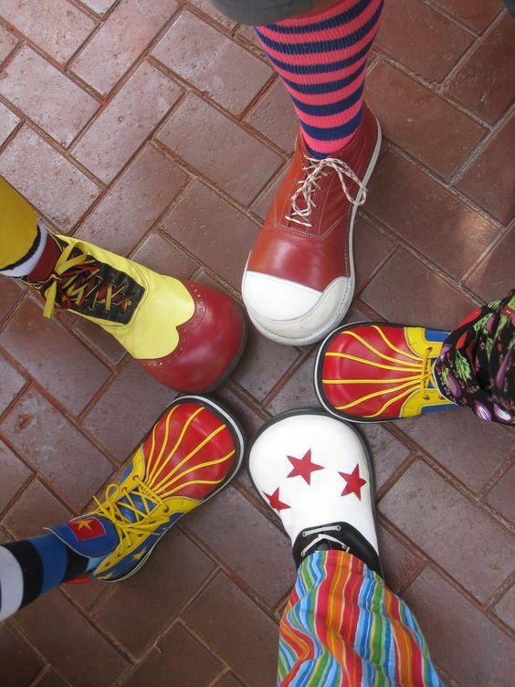Pin by HAZEL on { CLOWN KICKS }   Clown shoes