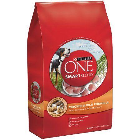 Purina ONE Smart Blend Chicken & Rice Formula Adult Premium Dog Food 4 lb. Bag