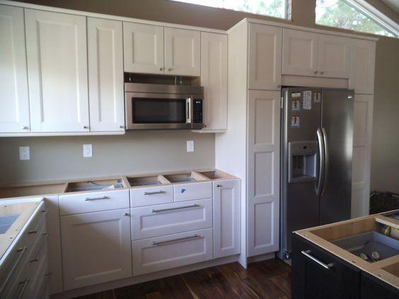 ikea ramsjo white cabinets