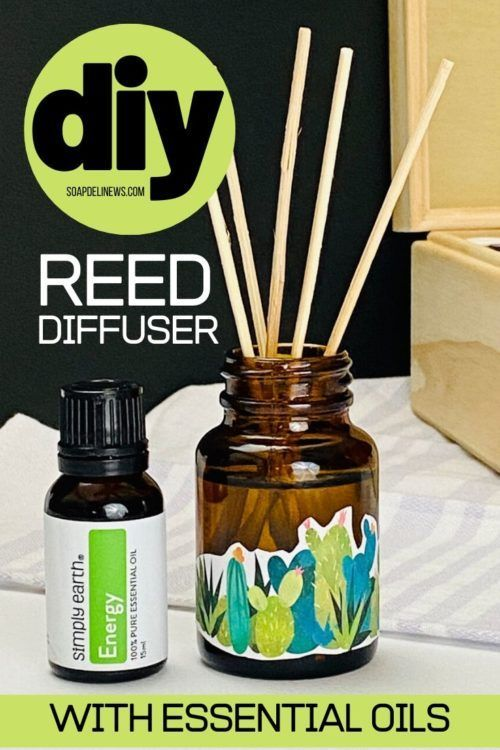Diy Reed Diffuser With Essential Oils For Natural Non Toxic Home