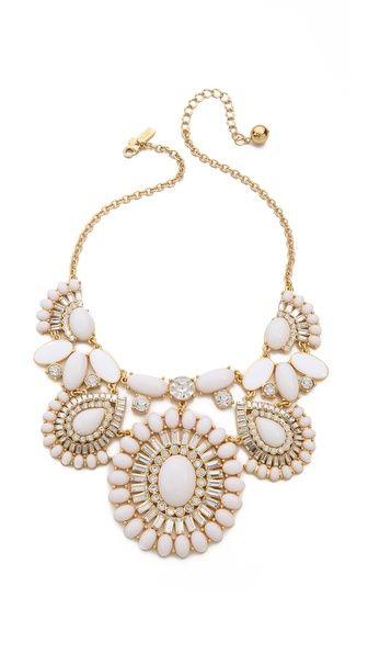 kate spade NY capri garden statement necklace