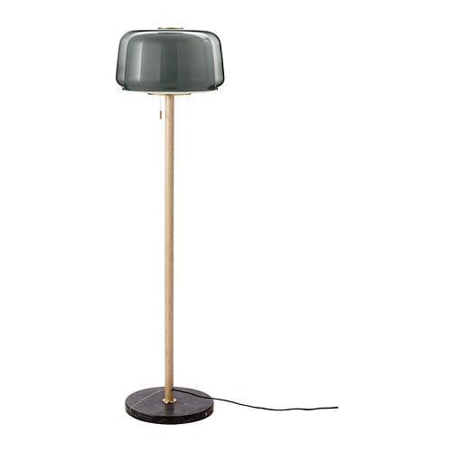 Evedal Golvlampa Marmor Gra Gra Ikea Floor Lamp Lamp Modern Lamp